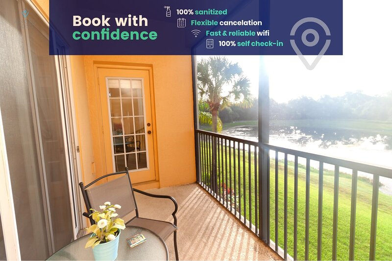 Lakeside Condo With Resort Amenities Near Disney!, alquiler vacacional en Celebration