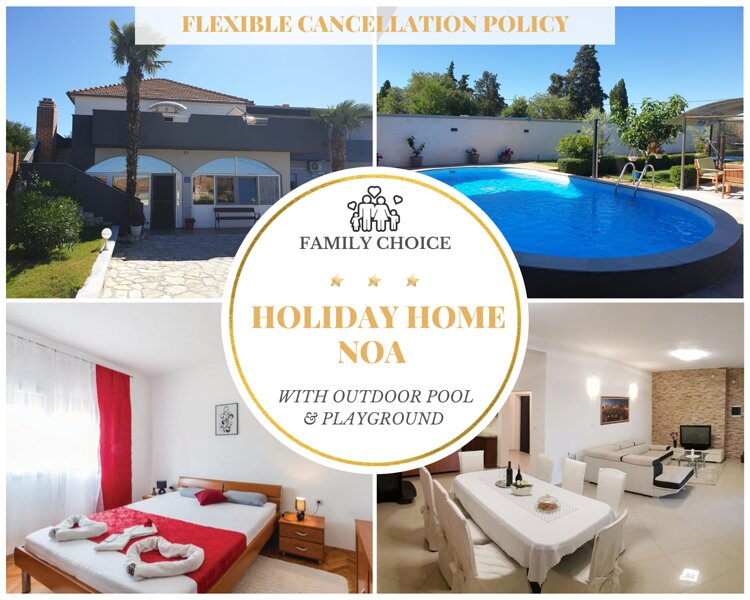 Beautiful Villa for 10 people with Private Pool and Garden, vacation rental in Galovac