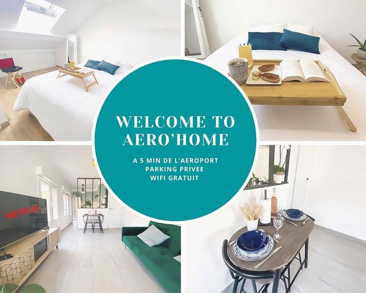 AERO'HOME - Parking Gratuit - Wifi Gratuit, location de vacances à Draveil