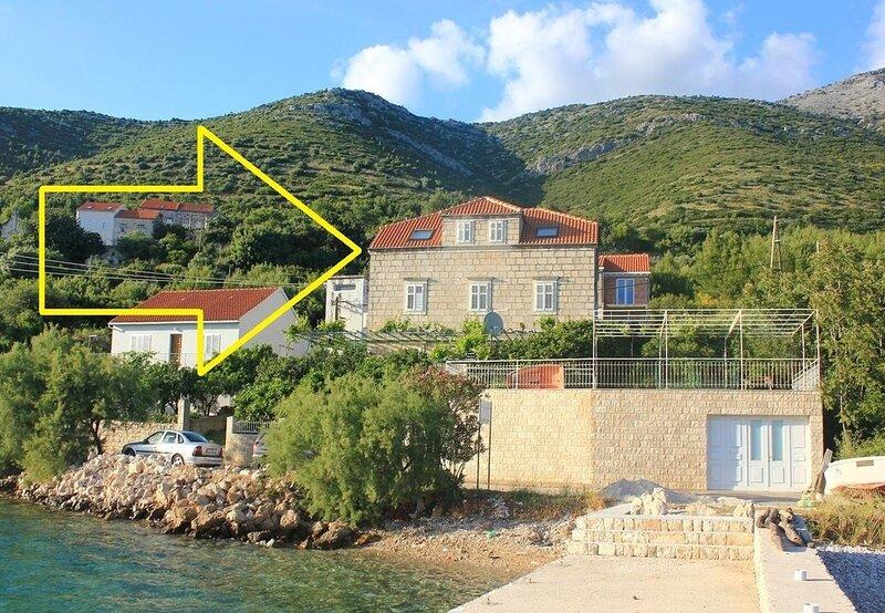Nevenkos - 20 m from beach A1(6+1) - Kuciste, location de vacances à Kuciste