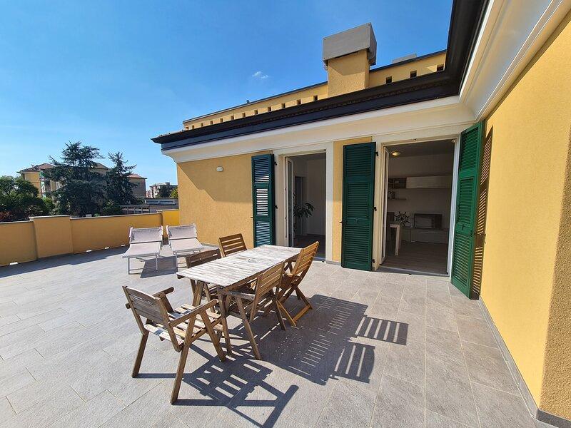 Apartment P - Terrace - Levanto Cinque Terre, vakantiewoning in Legnaro