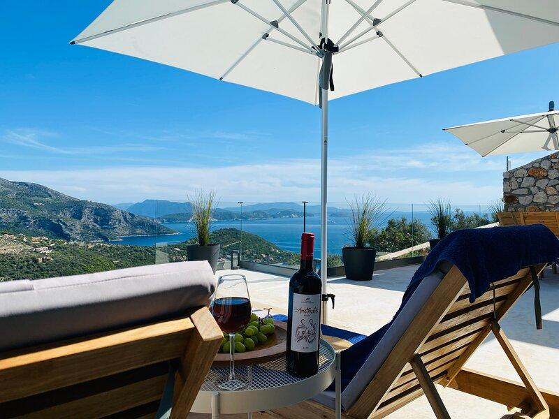 Villa Eco Luxe in Sivota Lefkada, holiday rental in Sivota