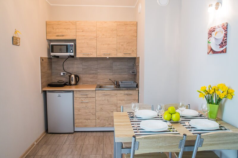 Apartment Sonoma, 33m2, 4pax, 1BR, parking, location de vacances à Chlapowo