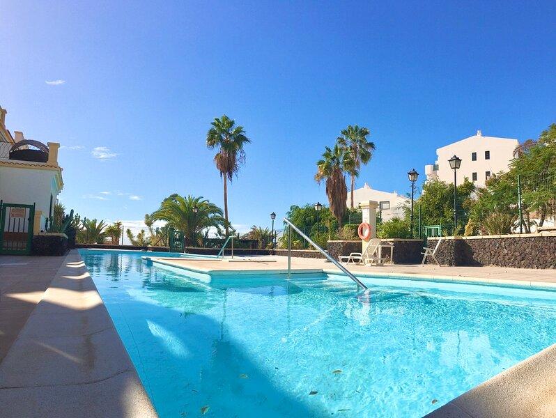 Beautiful apartment with fantastic view, holiday rental in La Caldera