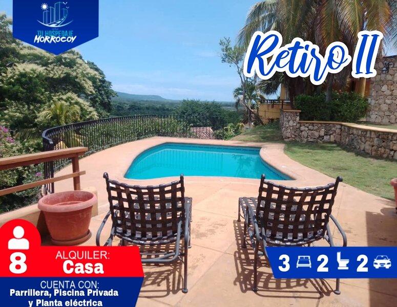 Alquiler De Casas Y Apartamentos En Tucacas Morrocoy Retiro II #09, vakantiewoning in Central-Western Region