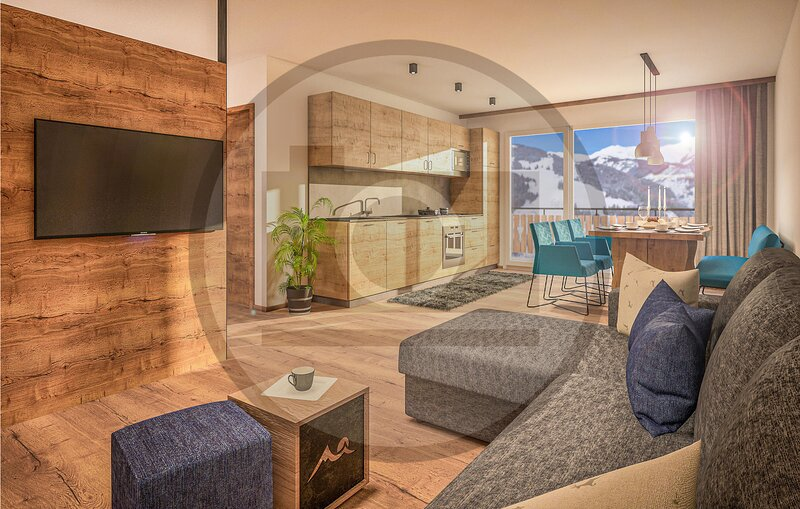 Stunning apartment in Rauris with Outdoor swimming pool, Sauna and 3 Bedrooms (A, casa vacanza a Rauris