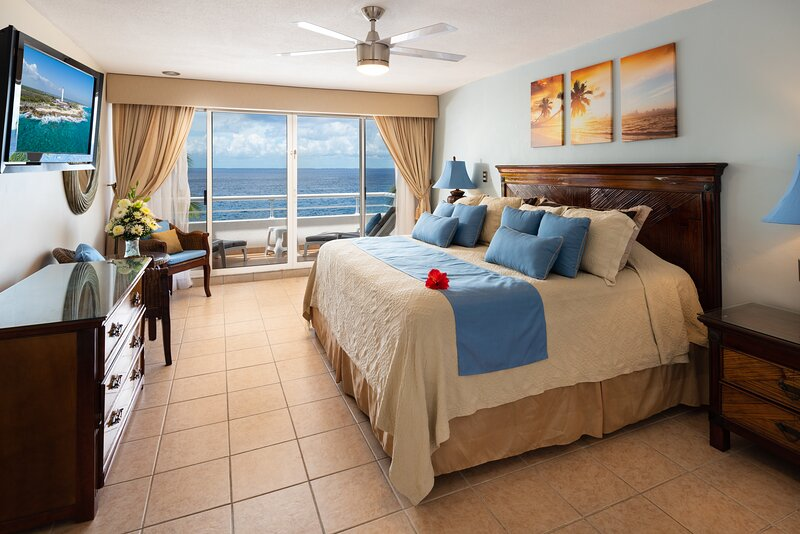Outstanding views to the ocean, quiet and relaxing, great snorkeling out-front! – semesterbostad i Cozumel