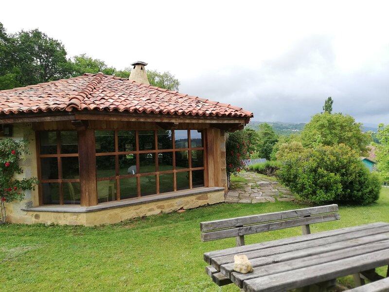 OKTOGONO, CASITA EN EL PARQUE NATURAL DEL GORBEA, alquiler de vacaciones en Manurga