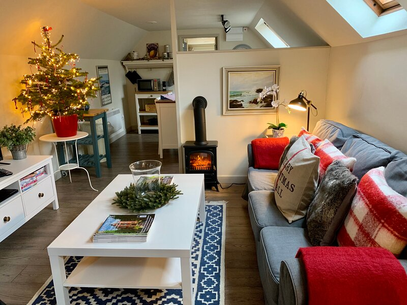 Cotswolds luxurious, cosy Barn, sleeps 2, dog friendly, vacation rental in South Cerney