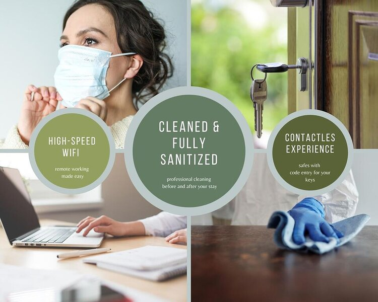 safety and cleaning protocols in all our apartments