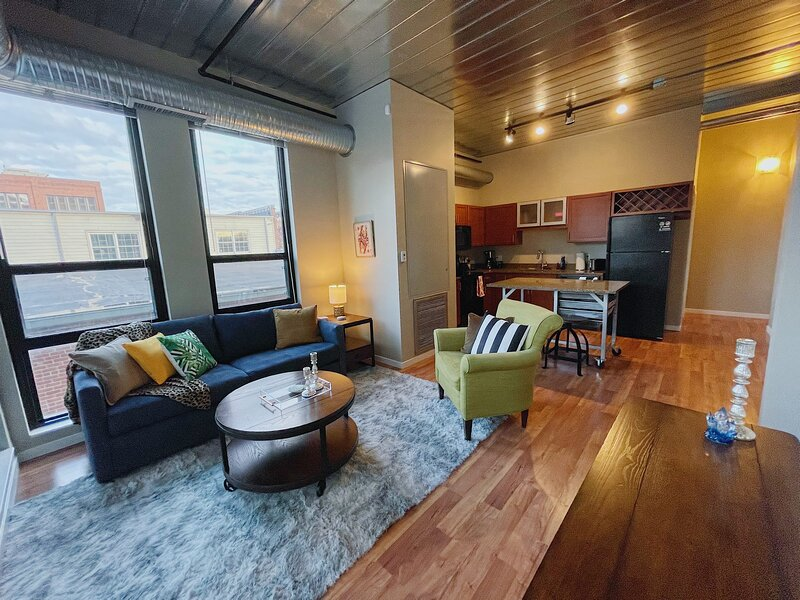 ~ Cozy AA Downtown Loft ~, holiday rental in Ann Arbor