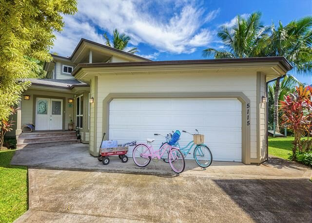 Beautiful Spacious Luxury Hanalei Home with Air Conditioning.  TVNC #5128, holiday rental in Hanalei