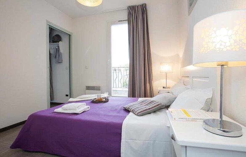 Appartement 2 personnes proche thermes avec Piscine, holiday rental in Alpes-de-Haute-Provence