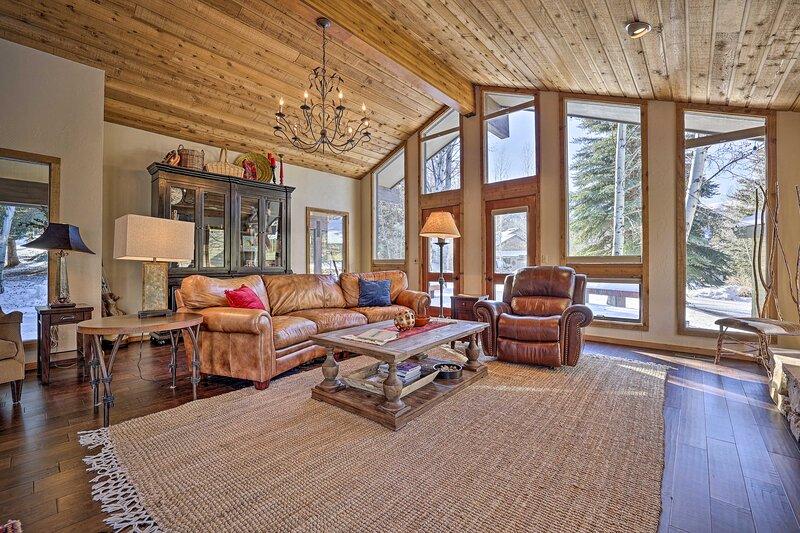 NEW! Serene Ski Retreat, 3 Mi to Sun Valley Resort, holiday rental in Bellevue