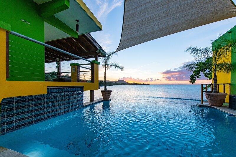 Villa Dos Palmas - Pool Villa - 2 Bedroom Oceanfront with Pool, holiday rental in Isabel Segunda