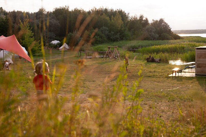 Camp Moeve - Glamping at Gräbendorfer See, holiday rental in Schmogrow Fehrow