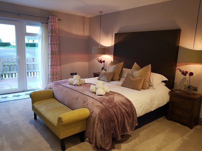Room 6 - Luxury Super King B&B Room, alquiler de vacaciones en Claythorpe