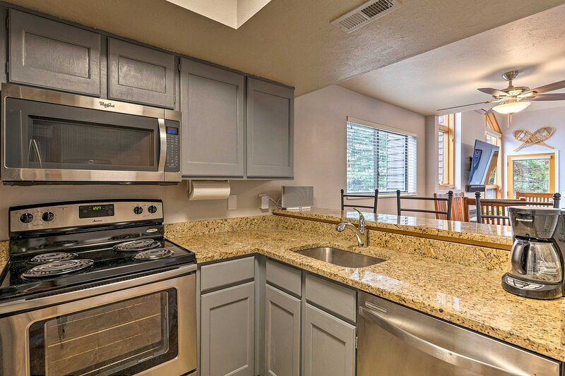 Fully Equipped Kitchen | Drip Coffee Maker | Complimentary Spices