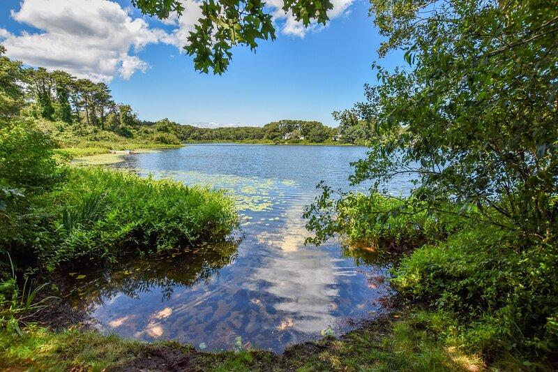 #644: Waterfront on Private Lake--Swim/Fish/Kayak, Foosball Table, & large yard!, holiday rental in North Chatham