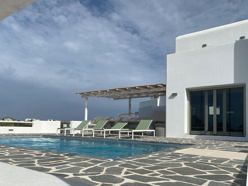Villa Sofia cycladic inspired villa for 7 in Naxos, holiday rental in Plaka