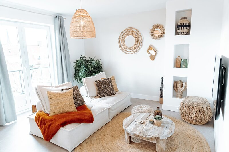 Bamboa Apartment steps away from the beach, vakantiewoning in Zandvoort