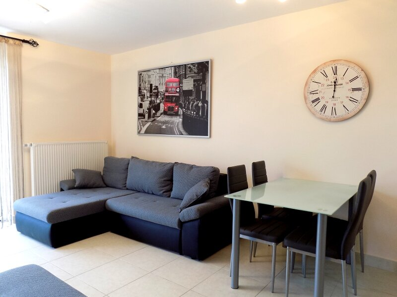 58 - Lovely, modern holiday apartment for max. 4 persons, holiday rental in Balatonszemes
