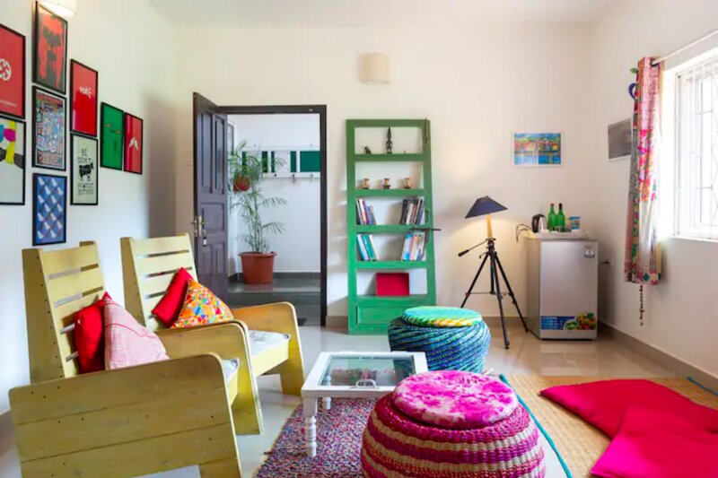 Green The Map - 3BHK Stay with Pool, holiday rental in Verla Canca