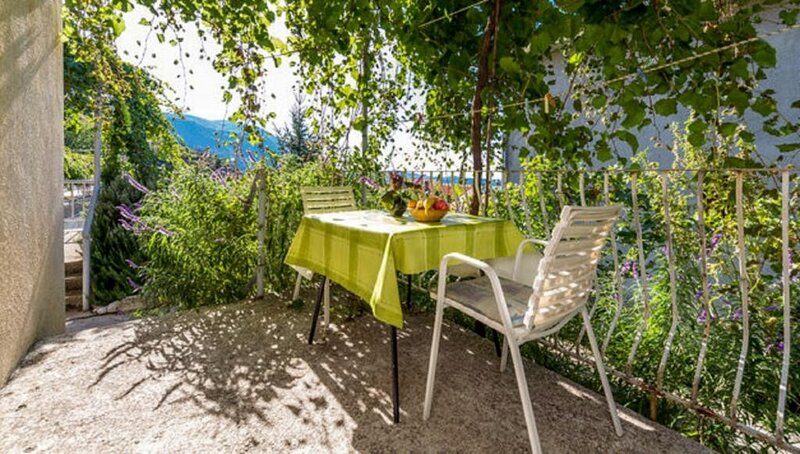 Apartments Klis -Studio Apartment with Terrace - 2 (D), holiday rental in Soline
