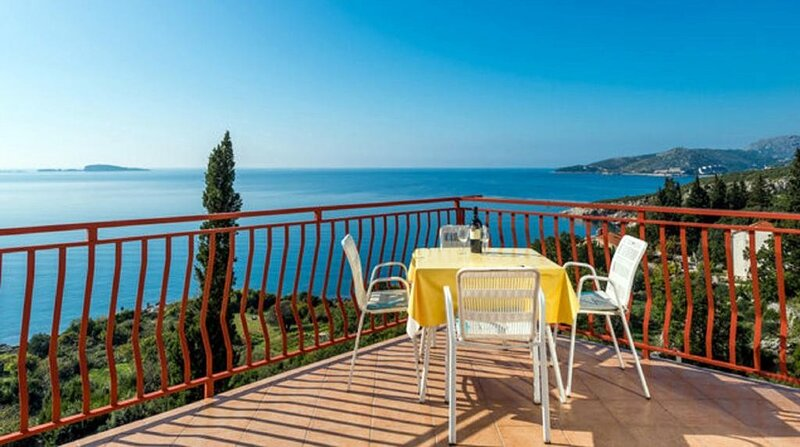 Guest House Fontana - Superior Studio with Sea View (2 Adults), holiday rental in Soline