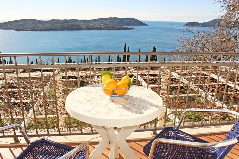 Apartment Bralovic- One-Bedroom Apartment with Sea View, holiday rental in Orasac