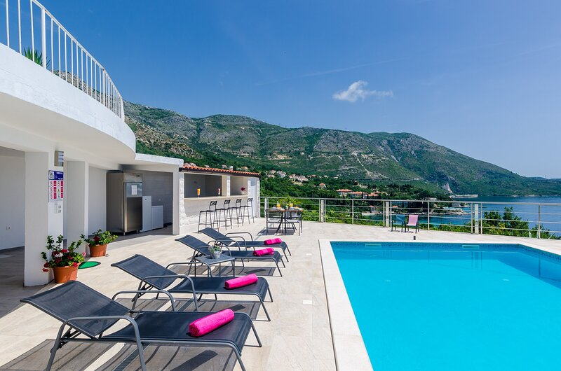 Apartments Sandito-One-Bedroom Apartment with Terrace and Sea View, holiday rental in Soline