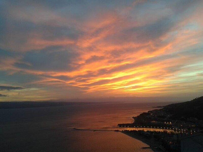 Fabulous sunset view
