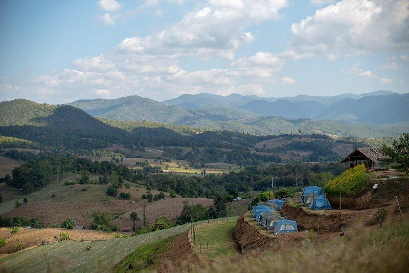 Mon Hom Camping Tent & Moo-Kra-Ta : ม่อนหอม - เต็นท์ & หมูกระทะ, location de vacances à Pai