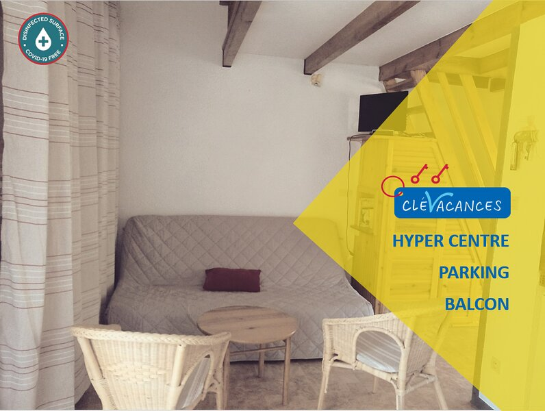 Appartement Val Des Thermes ❆ Parking ❆ Hyper-centre, vacation rental in Ignaux