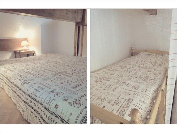 Couchage mezzanine et lits superposés alcôve