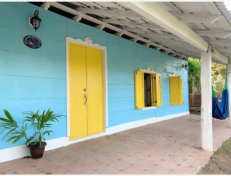 Hermosa y pintoresca casa rústica con vista al glorioso mar del Golfo., vacation rental in Veracruz