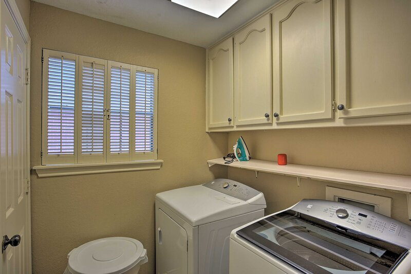 Laundry Room | 1st Floor | Iron/Board