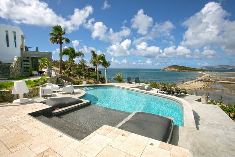 Villa Le Mas Des Sables | Ocean Front - Located in Magnificent Terres Basses w, holiday rental in Sandy Ground