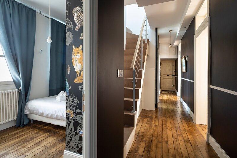 Les Trois Rois - Duplex Familial de Charme en cœur de ville, vacation rental in Saint-Sulpice-la-Foret
