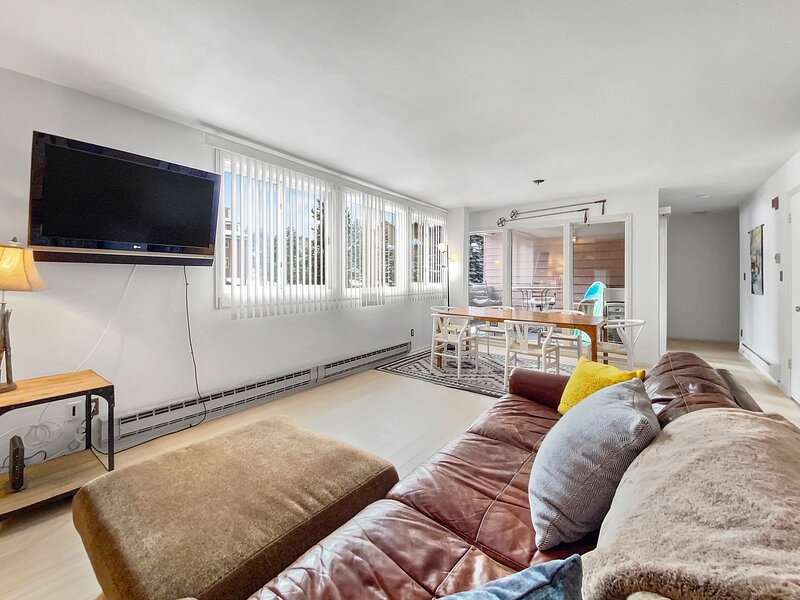 Relax and unwind back at the condo, equipped with flat screen TV!