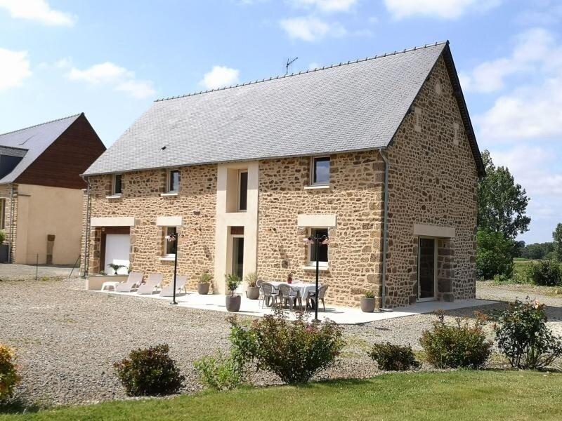 Mon Pré Vert, casa vacanza a Fougerolles-du-Plessis