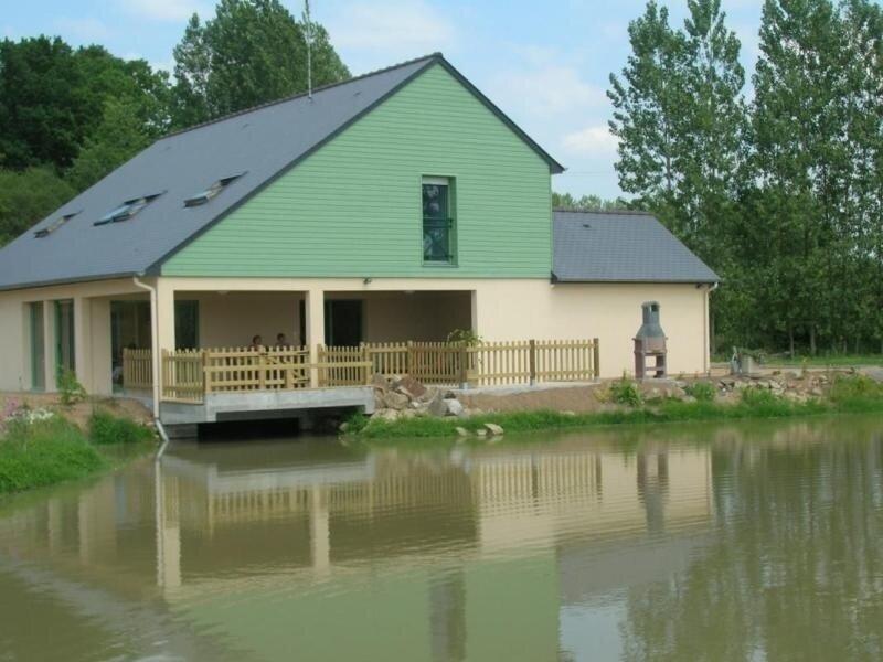 Le Pré des Iles, casa vacanza a Fougerolles-du-Plessis