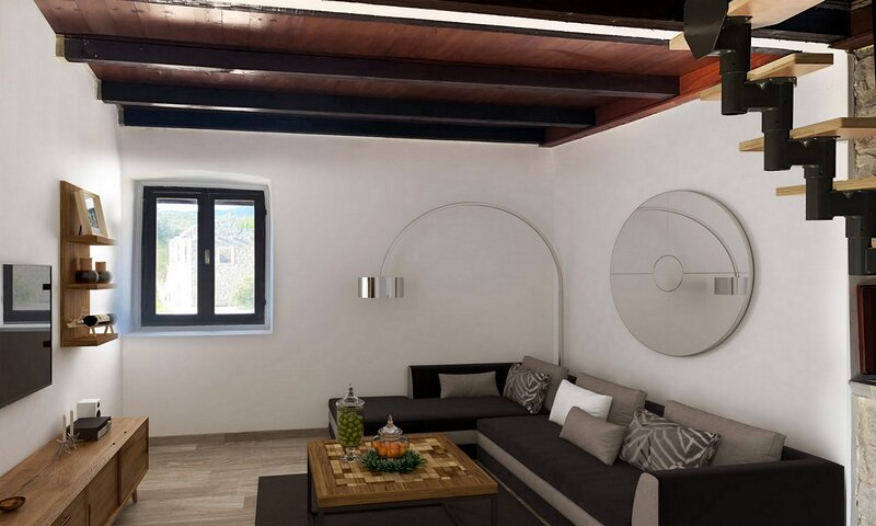 Stone House Prapatna - Two-Bedroom Holiday Home with Swimming Pool, holiday rental in Smokvica