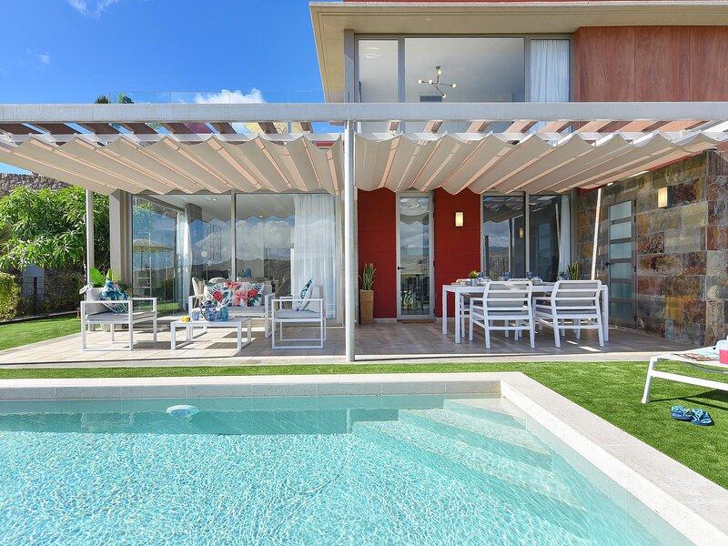 Los Dragos Salobre Golf Villas 3, vacation rental in El Salobre