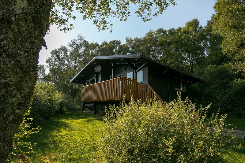 Self Catering Lodge above Loch Ness, alquiler vacacional en Drumnadrochit