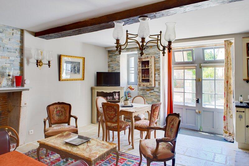LE HAUT DU BLANC - Gîte-appartement, holiday rental in Ingrandes