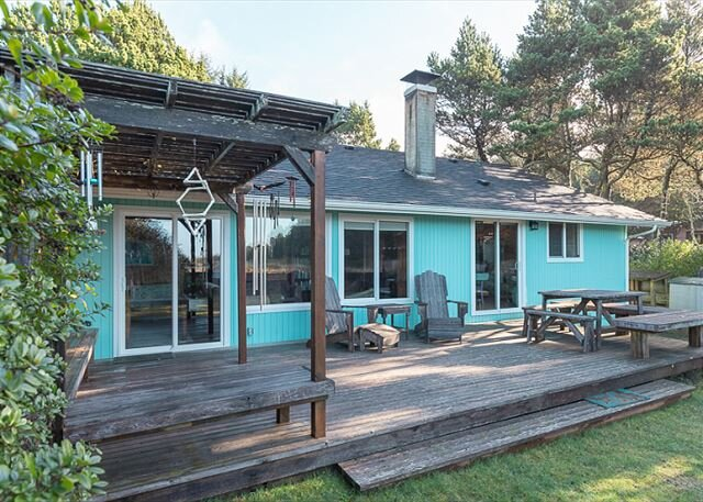 Bk 3/Get 2 FREE! OceanView, Pet-Friendly, Fenced Yard, Fireplace (SeaNest), holiday rental in Ocean Park