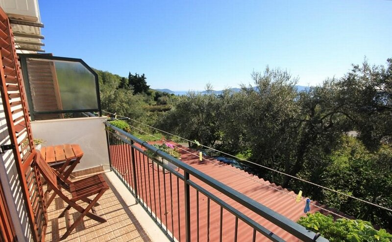Villa Ro - Ela - Studio Apartment with Balcony and Sea View - A2, casa vacanza a Brsecine