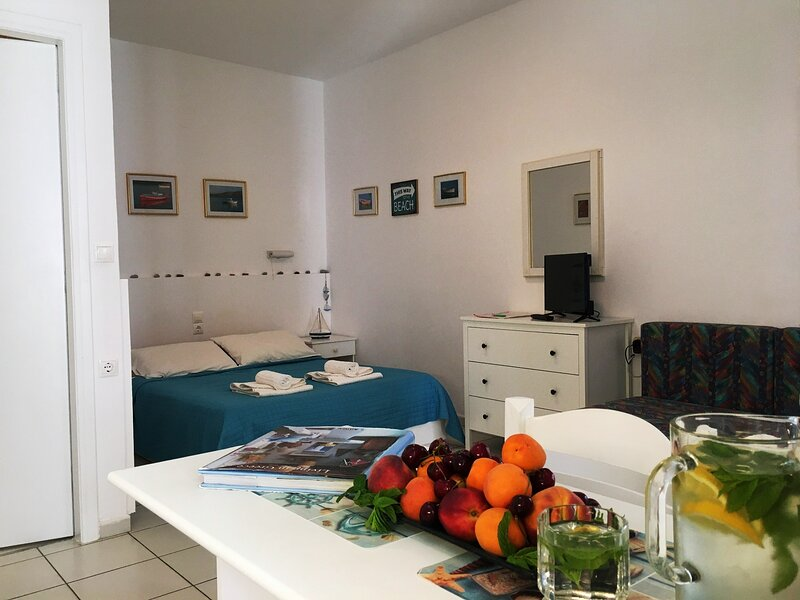 Kokkini Hani Charming Studio 100 meters from the Sandy Beach., casa vacanza a Karteros