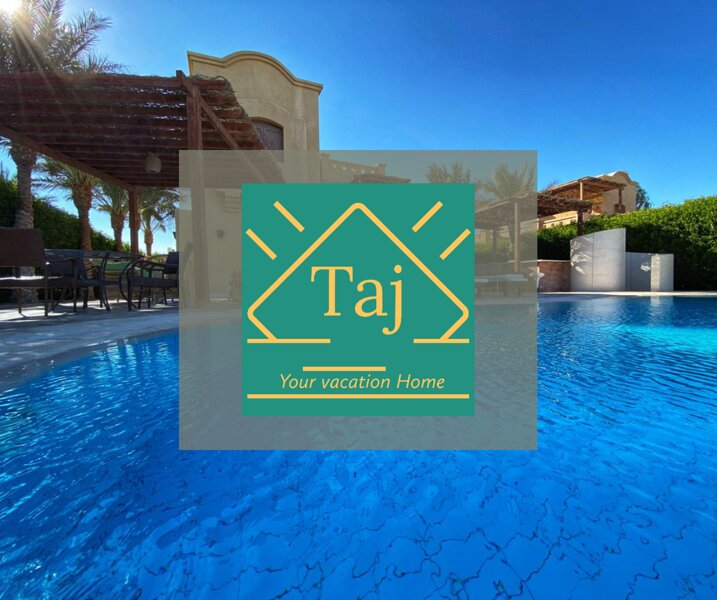 Taj home,Gouna Huge villa 5br , private pool and private beach, Ferienwohnung in El Gouna
